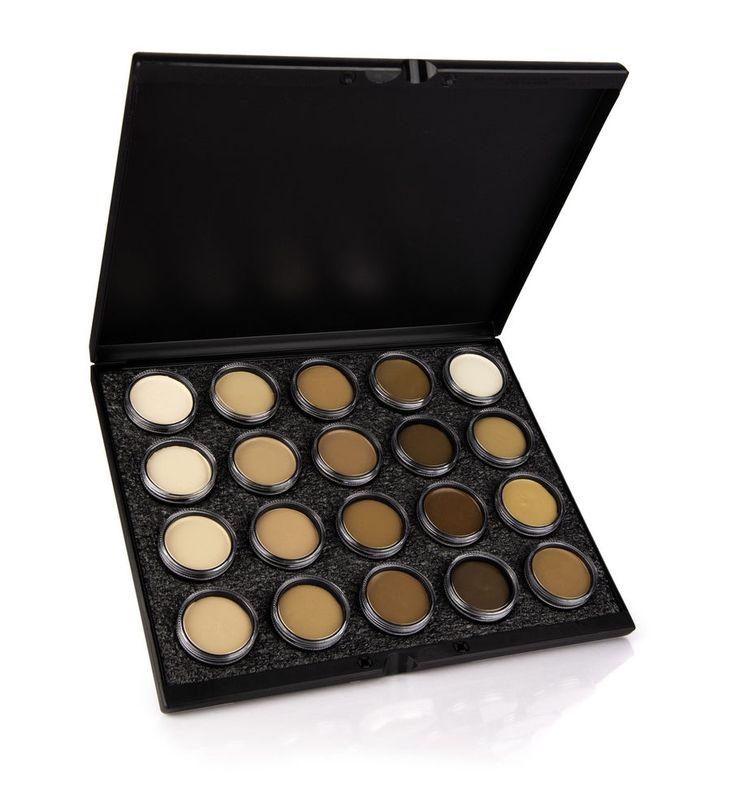 makeup artist cover letters%0A Celebre Pro HD Cream Foundation    Color Palette Mehron MUA beauty face  quality