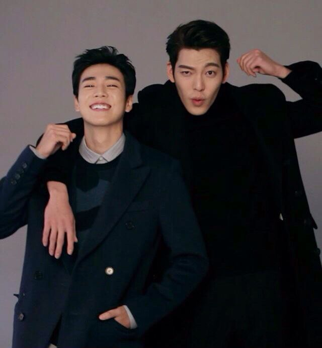 Lee hyun woo and kim woo bin