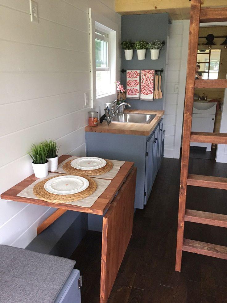 Fold down dining room