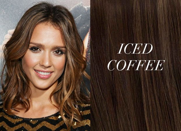 HK Hair Extensions in Iced Coffee #brunette | Hair color ...