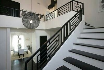 Best Modern Design Steel Wrought Iron Staircase Railings 400 x 300