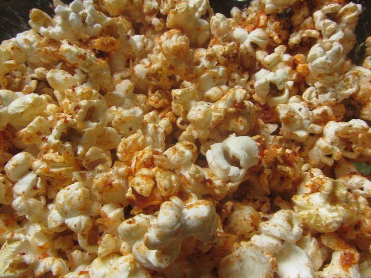 Pop corn au lard fumé et au paprika