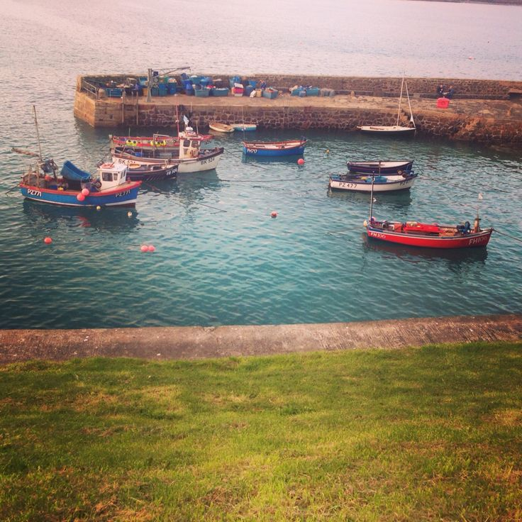 Little boats, Coverack.