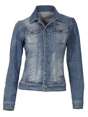 #HeineShoppingliste modische Jeansjacke in cleaner Waschung