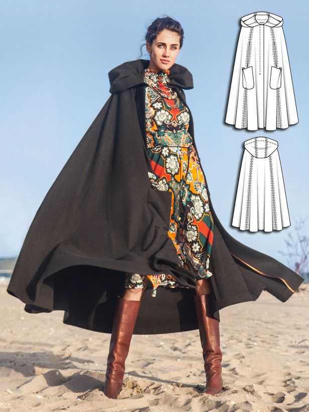 Patterns for adult hooded capes where can