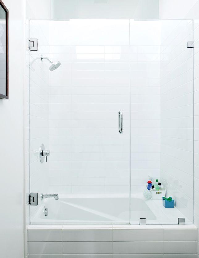 Bathroom Tub Glass Doors Simple Bathroom Tub Glass Doors With