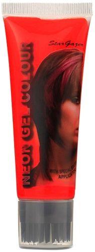 Gel Coloration STARGAZER - Neon UV Red - #Teinture Rouge Rose Éphémère - Couleur Pour Mèches de #Cheveux Pour une #Coiffure #Rock #Punk http://rockagogo.com