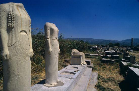 Visit Greece | Temple of Hera, Samos, Northeastern Aegean Sea #Greece #greekislands