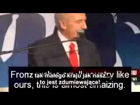 Język żydowski oficjalnym językiem urzędowym w Polsce - YouTube