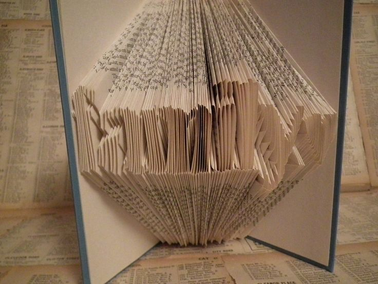 Easy tutorial to learn book folding in around 1 hour. Free book folding patterns and templates. Simplest and quickest way to achieve beautiful book art!