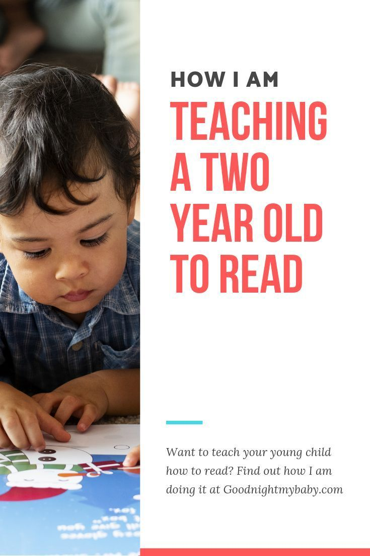 Can You Teach A Toddler To Read Yes My Son Just Turned Two Years Old And Has Just Started Talking Teaching Toddlers To Read Teaching Toddlers Teaching Babies How can i help my year old read