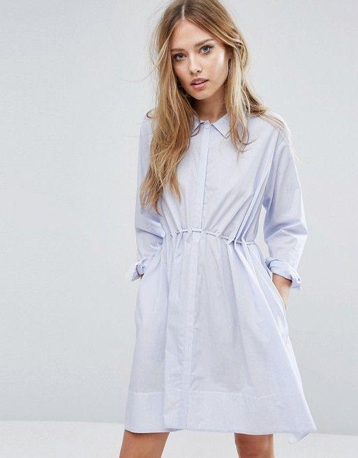 French Connection Smithson Stripe Cotton Dress