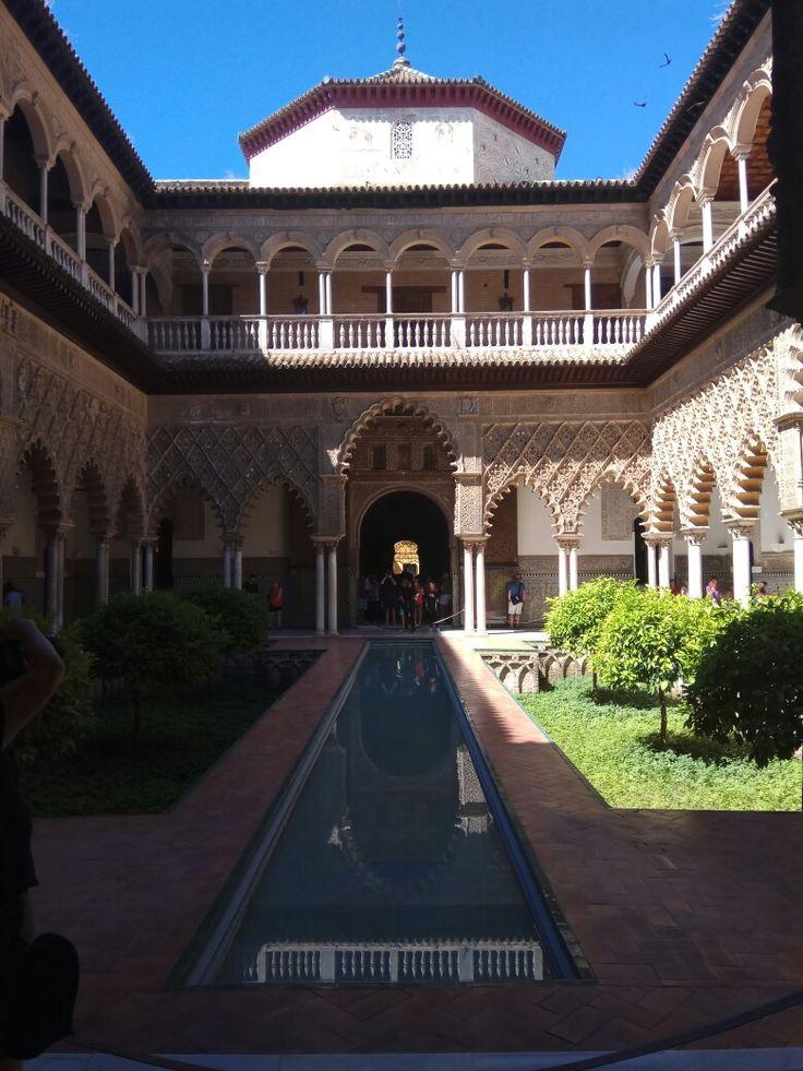 Alcázar de Sevilla. Andalucía, Spain