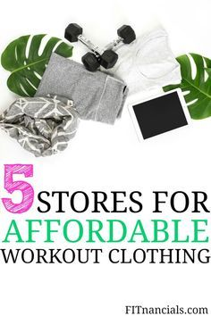 Check out these 5 stores for affordable workout clothing. The workout clothes are so cheap and good quality.