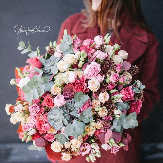 bouquet Подарочный букет @art_petrov @floral_style