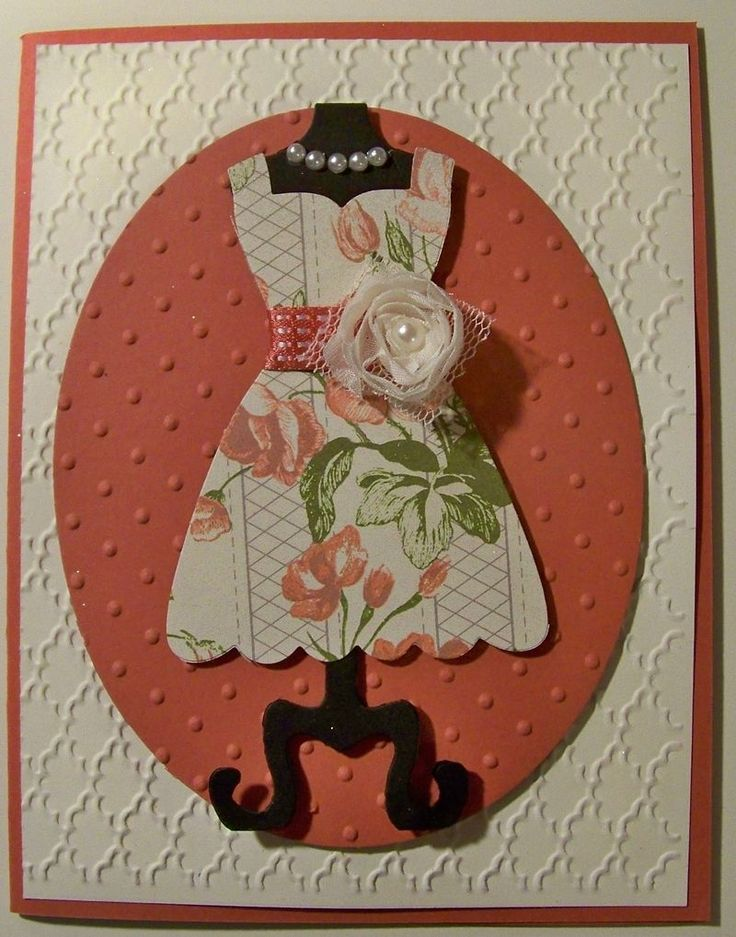 Stamping With Tamie: All Dressed up Framelits from Stampin Up