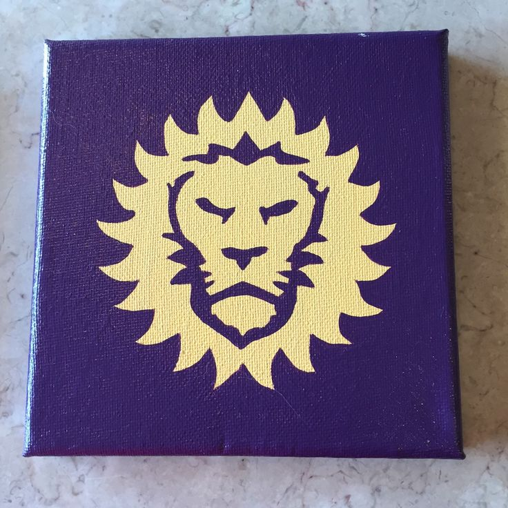Orlando City Soccer Logo Painting by PaintingIsHappiness on Etsy https://www.etsy.com/listing/230993384/orlando-city-soccer-logo-painting