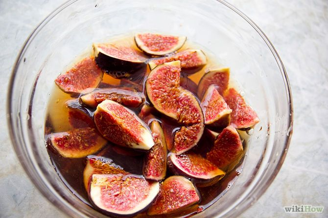 Fig Syrup made with Brandy