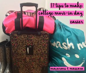 how to survive college move-in day
