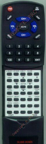 TOSHIBA Replacement Remote Control for BY634675, VC522, W522, W528 by Toshiba. $19.95. This is a custom built replacement remote made by Redi Remote for the TOSHIBA remote control number BY634675. *This is NOT an original  remote control. It is a custom replacement remote made by Redi-Remote*  This remote control is specifically designed to be compatible with the following models of TOSHIBA units:   BY634675, VC522, W522, W528  *If you have any concerns with the r...