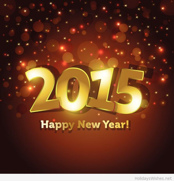 Happy new year for all my friends in 2015