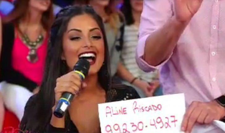 Insatisfeita, Aline Riscado não quer renovar com 'Pânico'