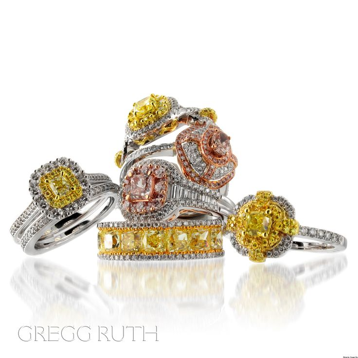 gregg jewelry multi ruth flower ring rings s pave women gold diamond