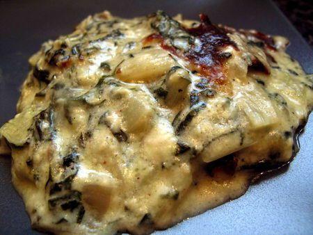 Aujourd'hui, un plat que ma grand-mère faisait souvent, que j'adorais, et que j'avais abandonné totalement parce que c'est trop ch.ant de préparer des blettes ma petite fami…