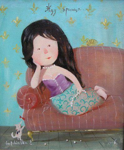 Waiting for Prince by Gapchinska