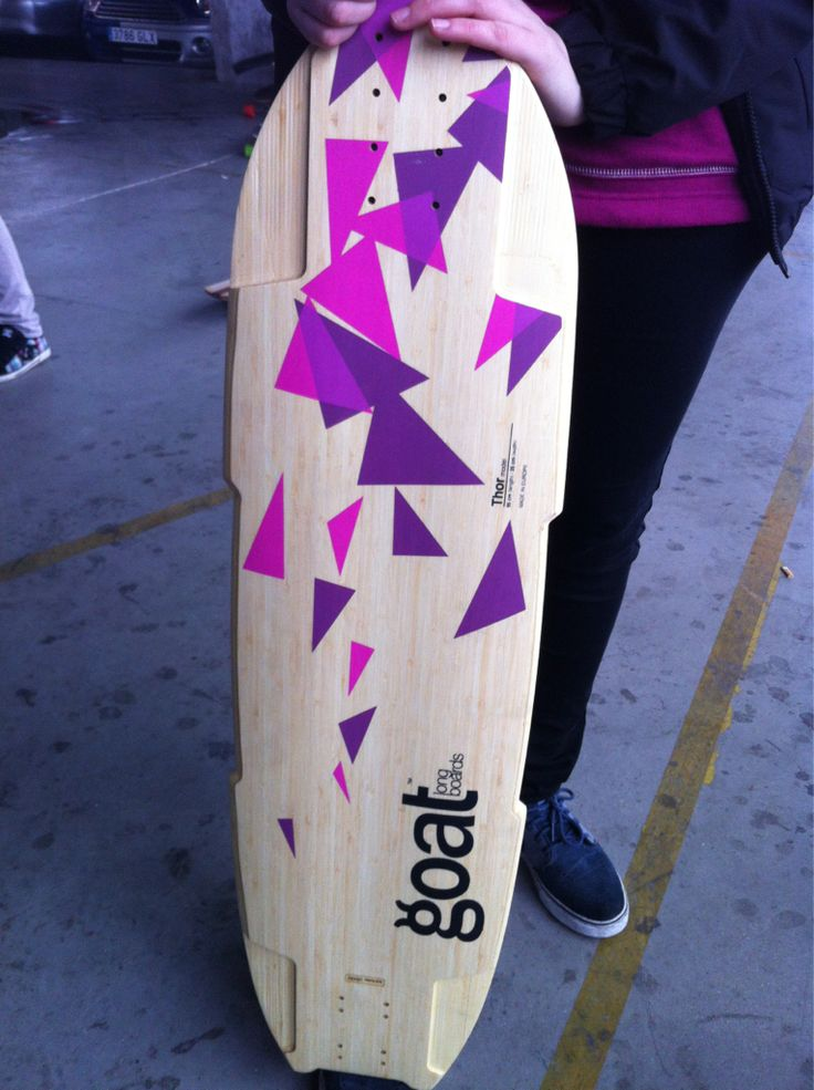 Sexy new topmount from the #GOAT guys in Spain. #longboard