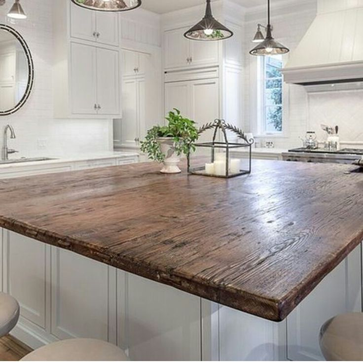 21 Impressive Cool Kitchen Island Design Ideas: Best 25+ Wood Countertops Ideas On Pinterest