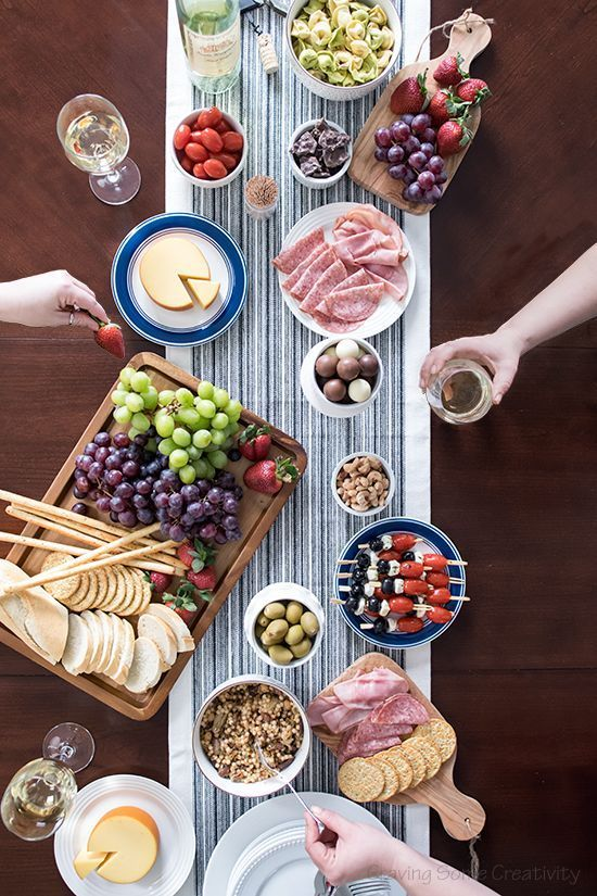 easy wine and cheese party craving some projects pinterest rh pinterest com