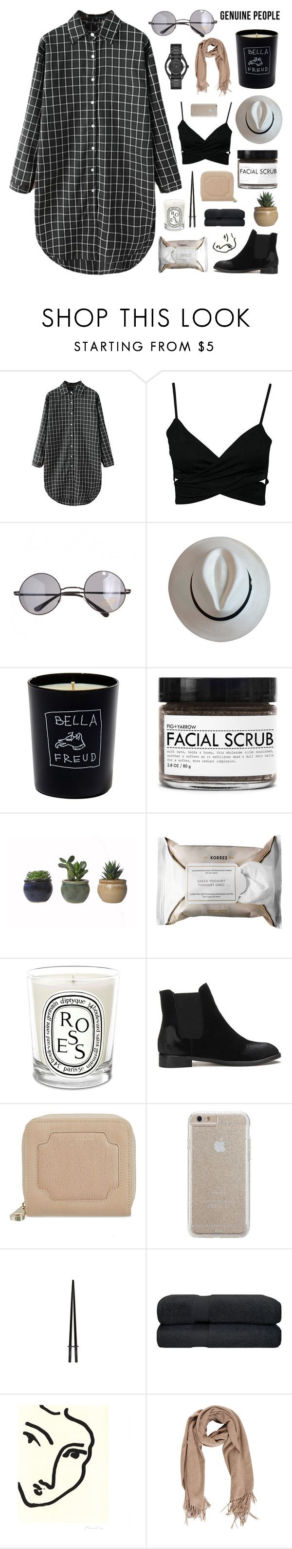 """""""love will tear us apart"""" by jesicacecillia ❤ liked on Polyvore featuring Retrò, Bella Freud, Fig+Yarrow, Korres, Diptyque, Aspinal of London, Case-Mate, Marc by Marc Jacobs and Genuine_People"""