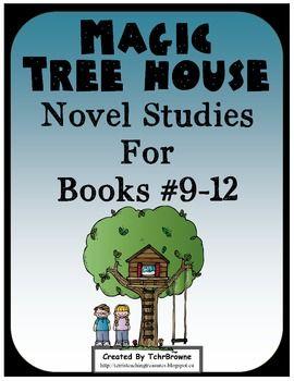 #9-12 Magic Tree House Book Novel Study Units $ 127 pages!!!!