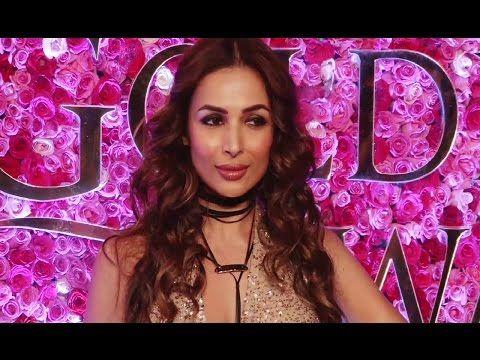 Salman Khan's sister in law Malaika Arora at Lux Golden Rose Awards 2016.