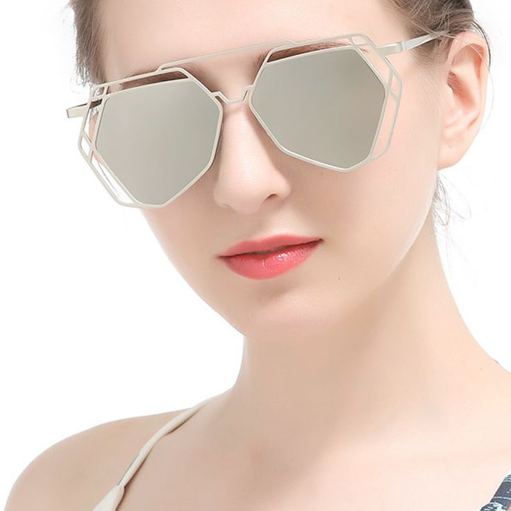 BAVIRON Art Deco Polarised Sunglasses
