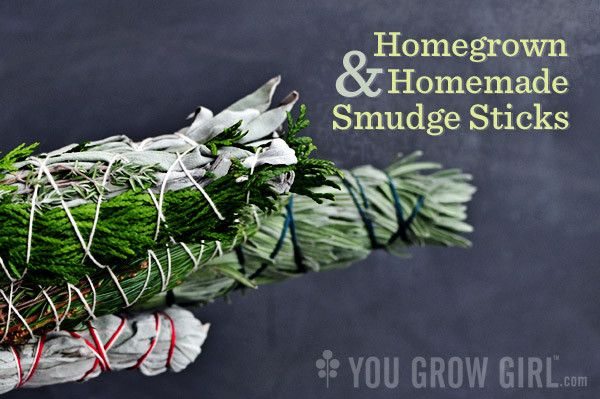Make Your Own Homegrown Smudge Sticks, I do this all the time, I haven't purchased a smudge stick in 3 years :)