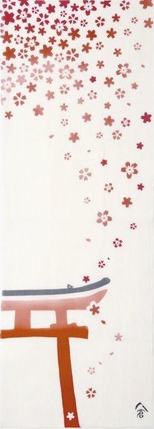 鳥居に桜 torii and cherry blossoms