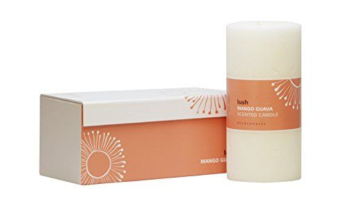 DECOCANDLES  Lush  Mango  Guava  3 X 6  Pillar Candle in box *** Continue with the details at the image link. #Candleholders