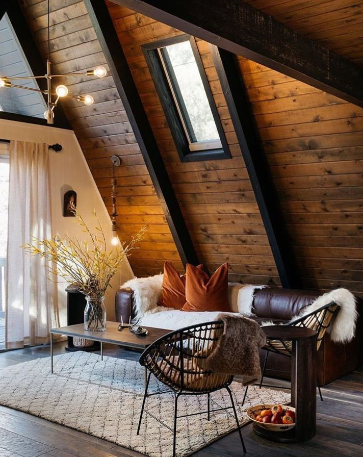 open beam ceilings vaulted home decor home a frame cabin rh pinterest com