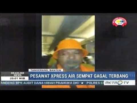 Video Amatir Kabin Pesawat Xpress Air Bocor