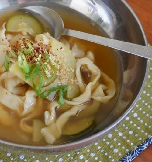 Receita: Yachae Kalguksu (coreano da faca macarrão com legumes)