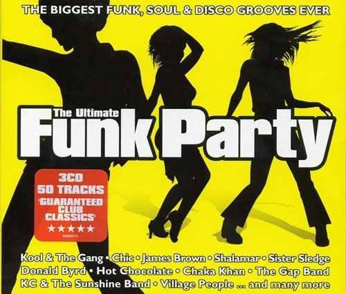 V.A. The Ultimate Funk Party | 3CD (2004) | MP3...