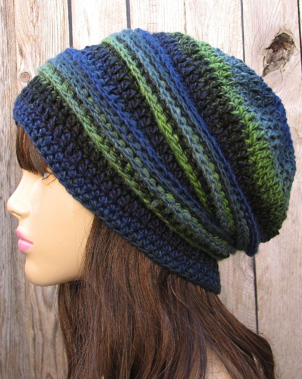 Slouchy hat - for those days you're in a rush