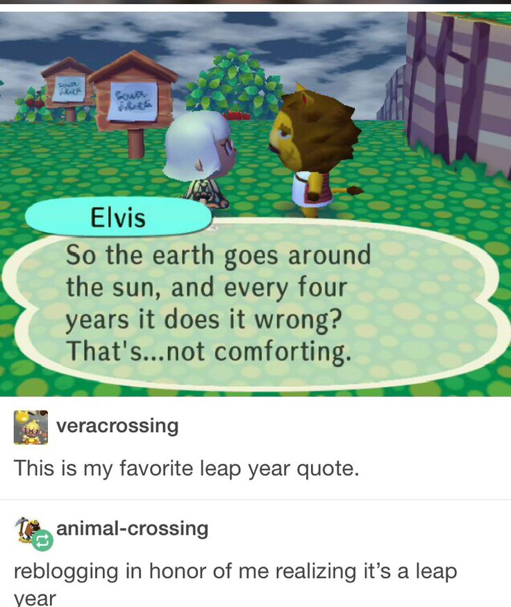 So the earth goes around the sun and every four years it does it wrong? That's... not comforting.