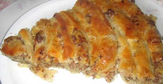 Kıymalı Çarşaf Böreği Tarifi | Kadınca Tarifler - Kadınlar İçin Özel Paylaşımlar - Yemek Tarifleri