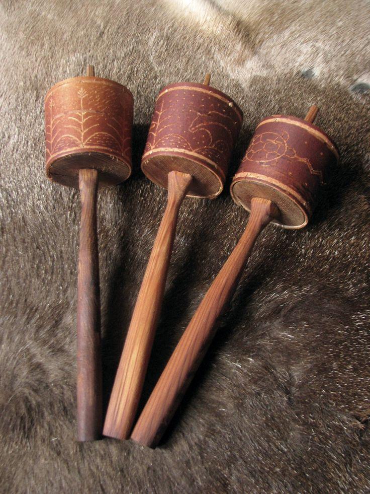 birch bark rattles...