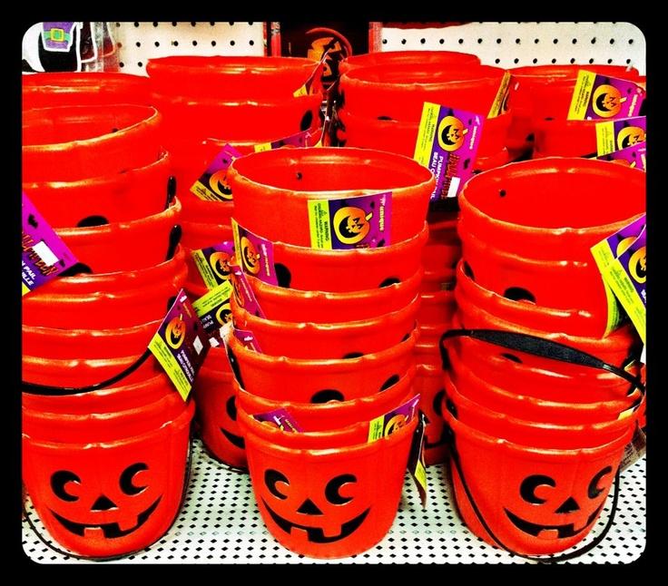 pumpkin buckets!