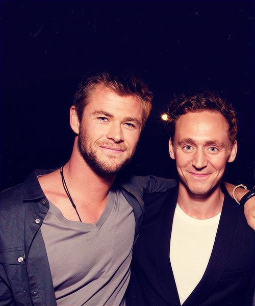 140 best images about Tom Hiddleston and Chris Hemsworth ...