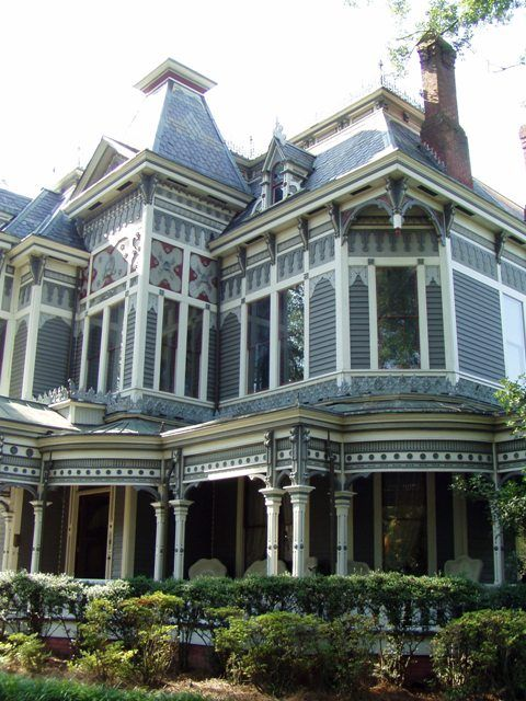 Tour a Beautiful Historic Victorian Home in Newnan, Georgia.